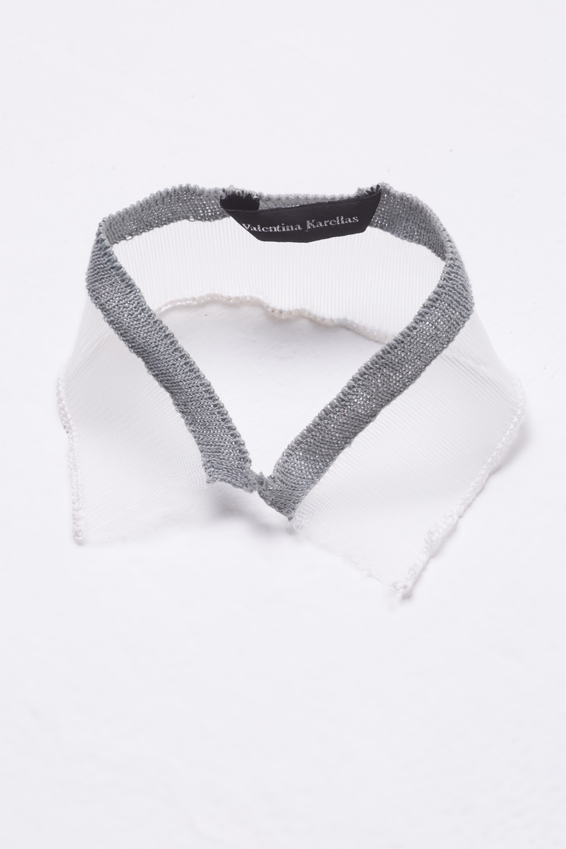 knitted collar necklace