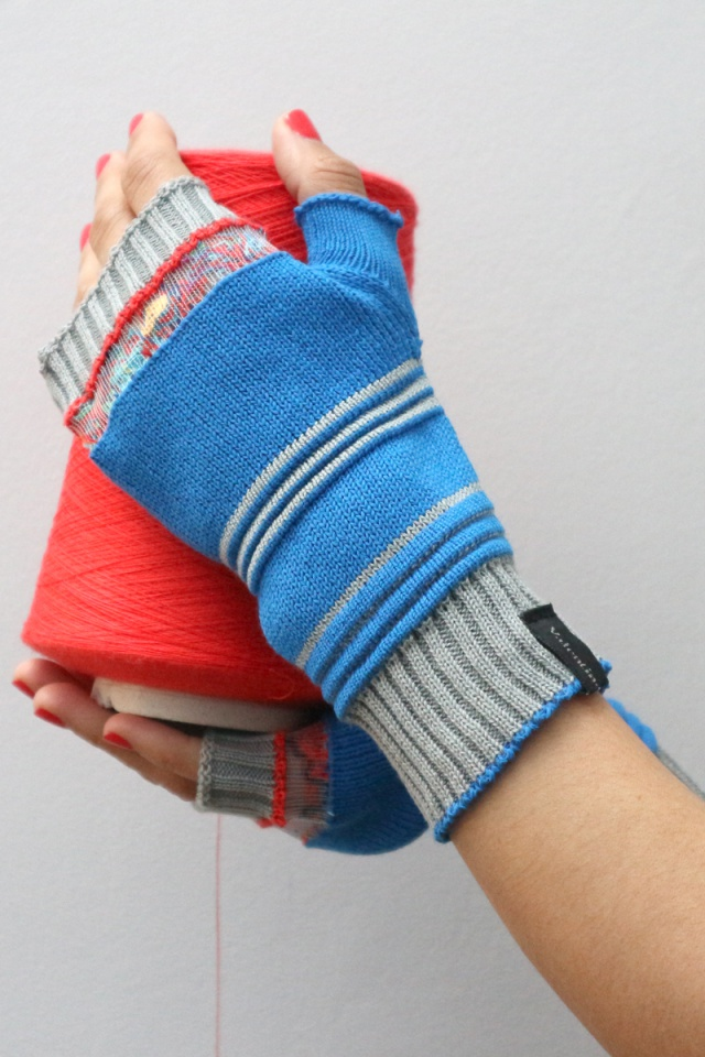 Mittens, knitted mitten, cotton mitten