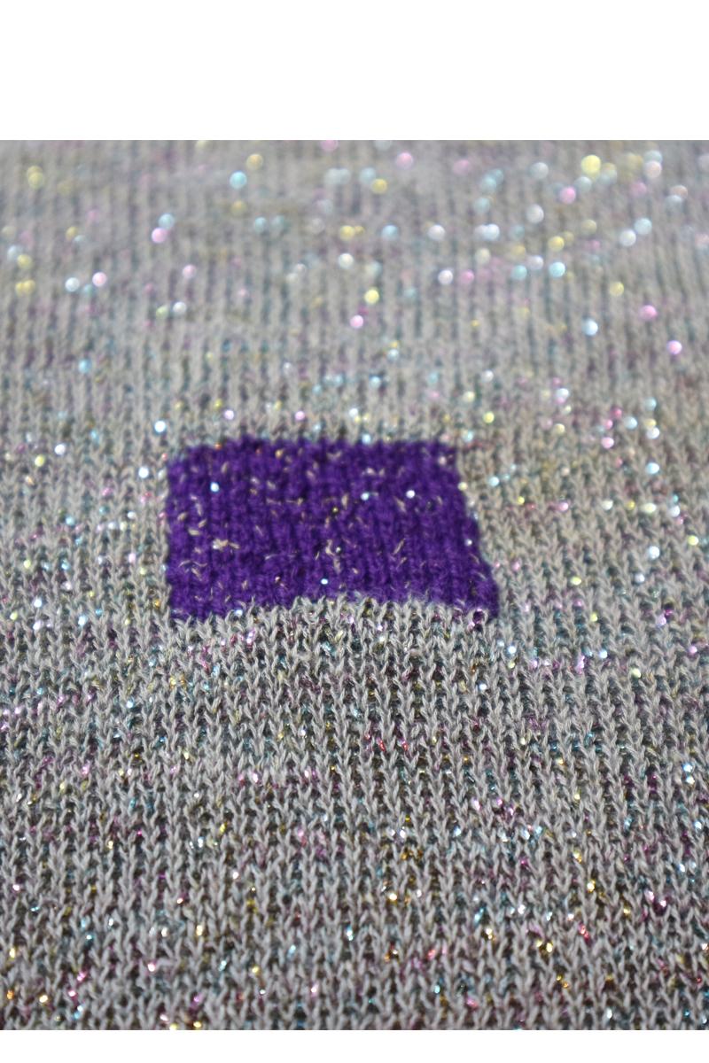 duplicate stitch visible mending