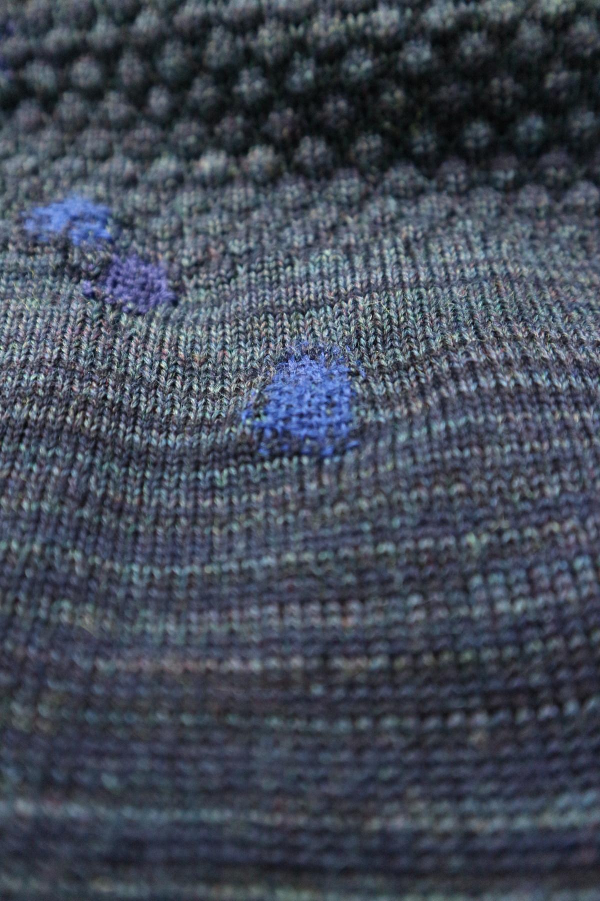 visible mending knitwear