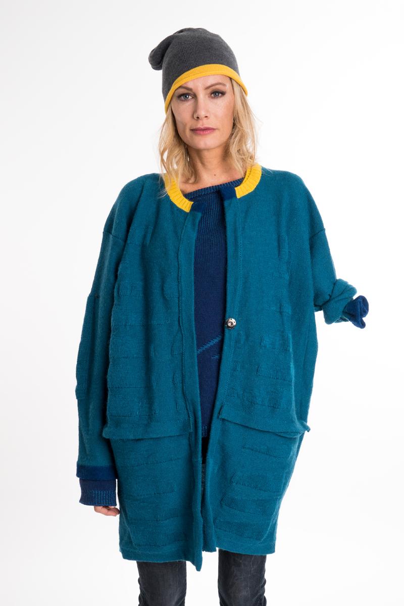Bramber wool green jacket