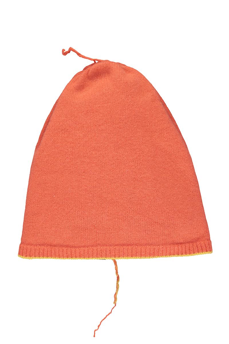 orange beanie cashmere
