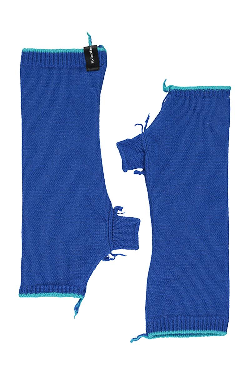blue cashmere beanies