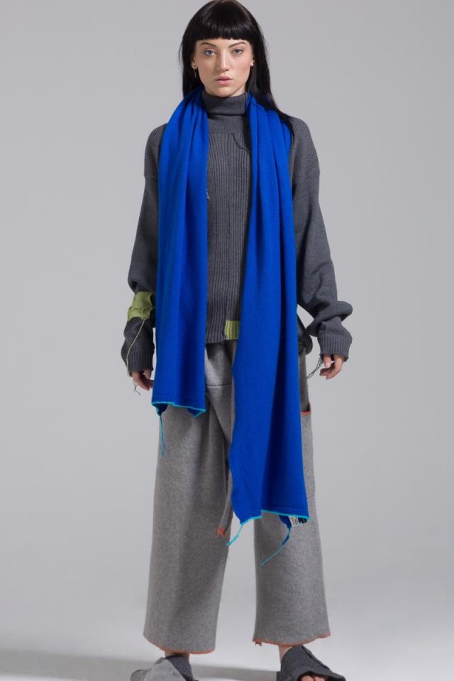 Denver cashmere blue scarf