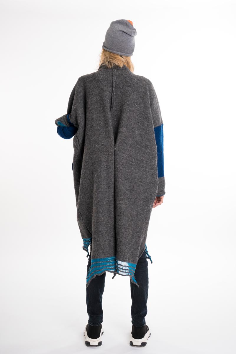 grey felt jacket