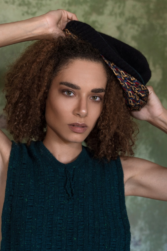 Tilney Beanie for curly and wavy hair Valentina Karellas